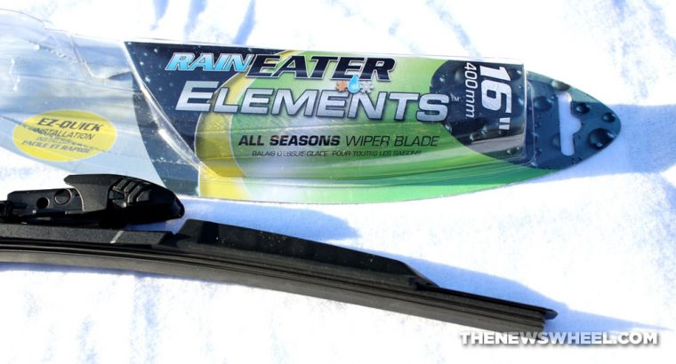 RainEater Elements All Seasons Wiper Blade Review unboxing