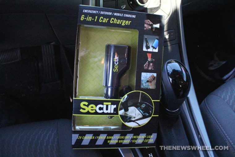 SECUR 6-in-1 Car Charger Accessory Review package