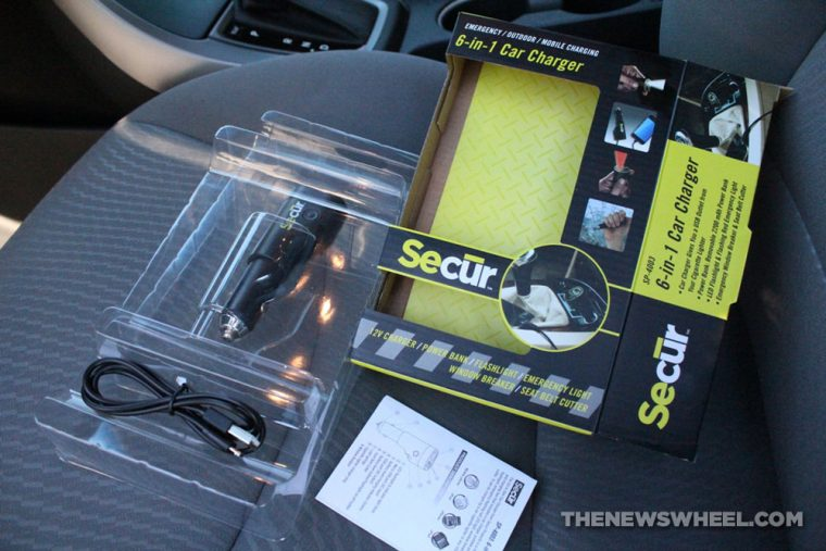 SECUR 6-in-1 Car Charger Accessory Review unboxing