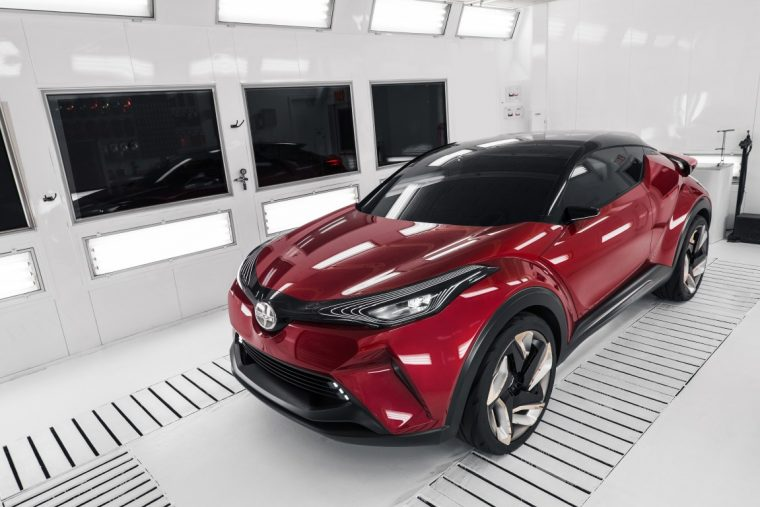 Scion C-HR Concept transition to Toyota