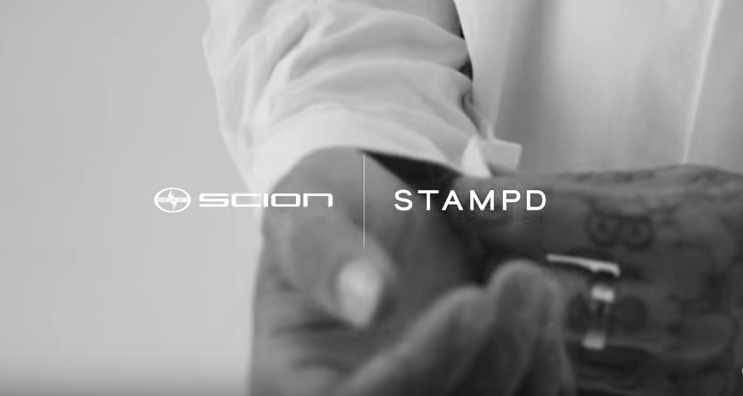 Scion STAMPD partnership LA Auto Show