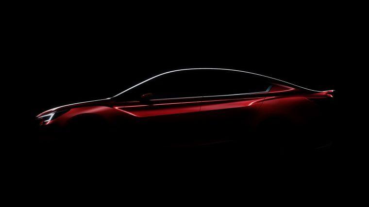 Subaru Impreza Concept Teaser - Subaru Sales Cap
