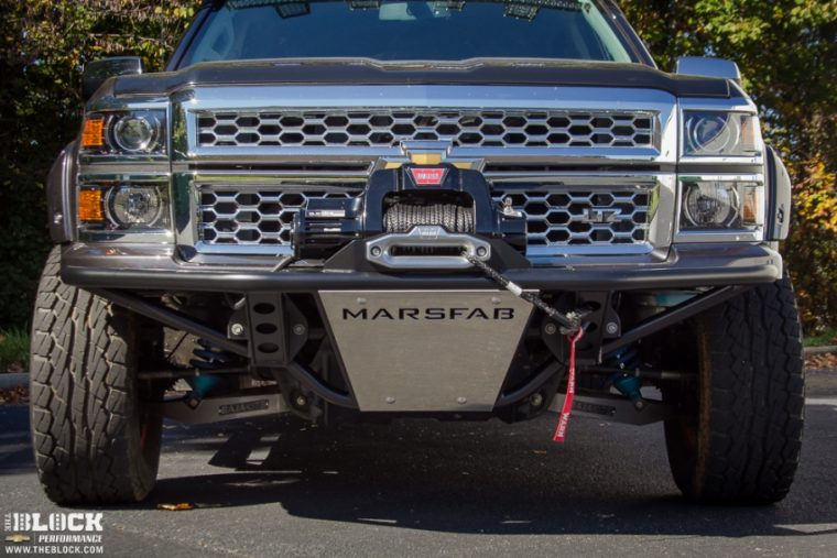 The BLOCK Chevrolet Silverado Adventure Mobile