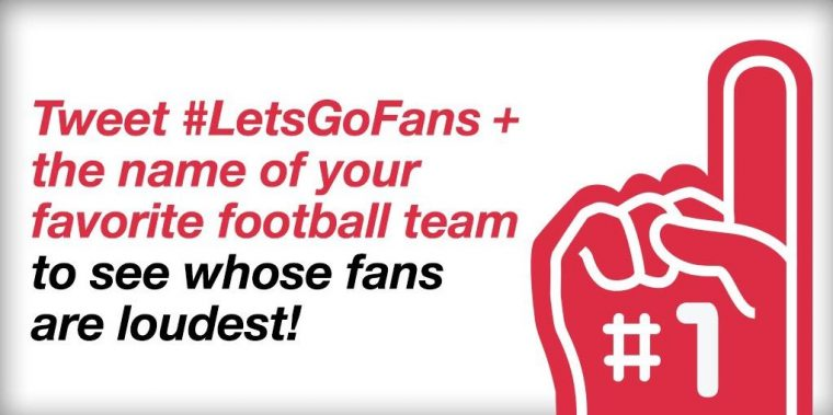 Toyota Twitter #LetsGoFans campaign