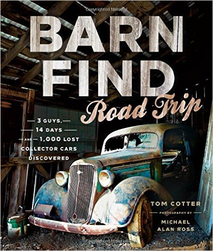 barn find road trip book cover