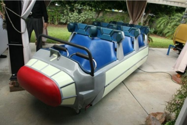 classic Disneyland car for auction - Space Mountain