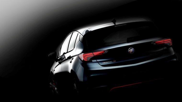 Buick Verano GS teaser