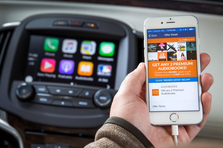 Buick OnStar customers get two free audiobooks from Audiobooks.com