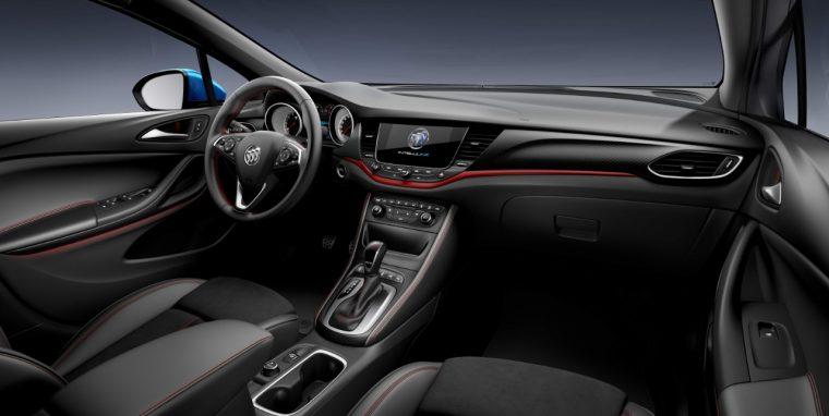 Buick Verano GS interior
