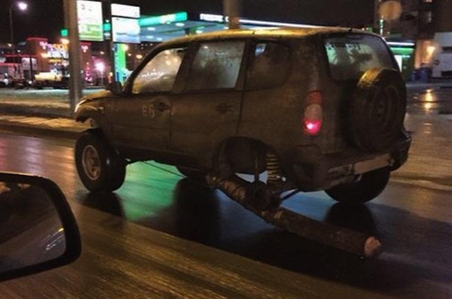 Russian log tire