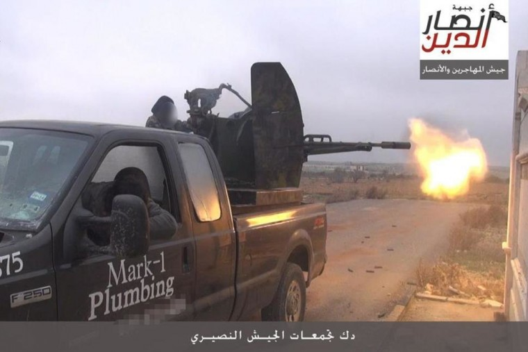 ISIS plumber truck