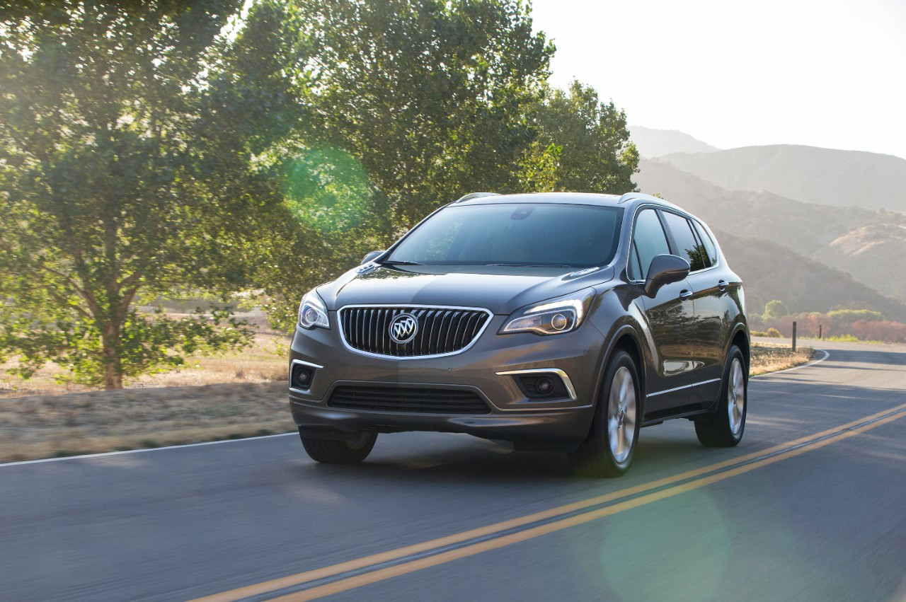 2016 buick envision 5 the news wheel. Black Bedroom Furniture Sets. Home Design Ideas