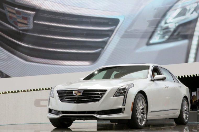 The 2016 Cadillac CT6 comes standard with Daytime Running Lamps