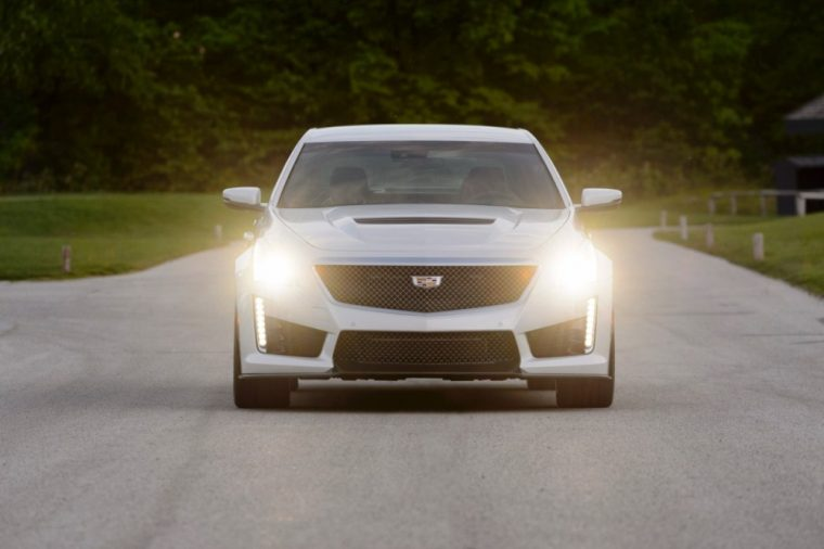 The 2016 Cadillac CTS-V with its powerful V8 engine have been nominated for Motor Authority's Car of the Year award