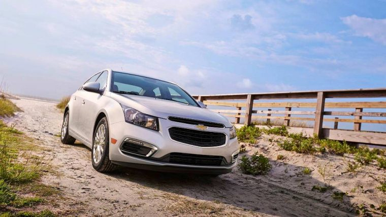 The 2016 Chevy Cruze Limited features a starting MSRP of $16,120