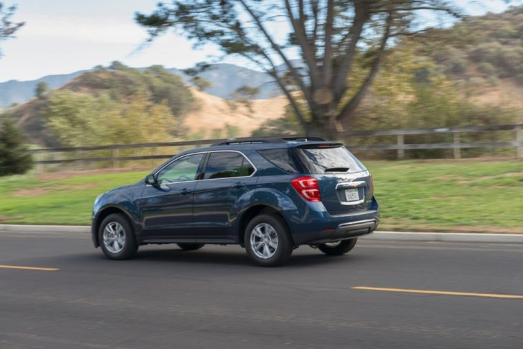 The 2016 Chevrolet Equinox comes standard with 182 horsepower four-cylinder engine