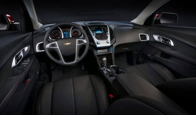 A tilt and telescopic steering column comes standard with the 2016 Chevy Equinox