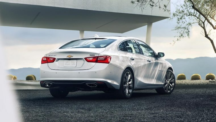 Daytime Running Lamps come equipped on the 2016 Chevy Malibu