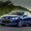 The 2016 Chevrolet SS features a 415 horsepower V8 engine