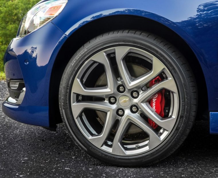 The 2016 Chevrolet SS comes standard with Brembo brakes