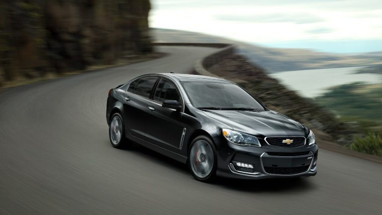 The 2016 Chevrolet SS comes standard with StabiliTrak, stability control system