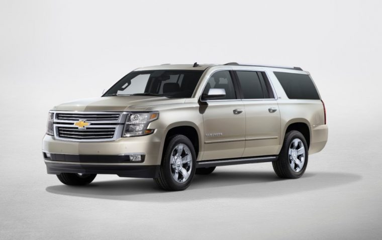 The 2016 Chevrolet Suburban features a V8 engine good for 355 horsepower and 383 lb-ft of torque