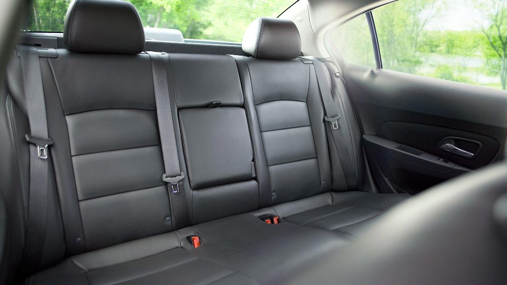2016 Chevy Cruze unlimited rear seats  The News Wheel