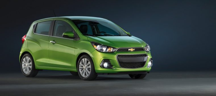 The 2016 Chevy Spark goes on sale today