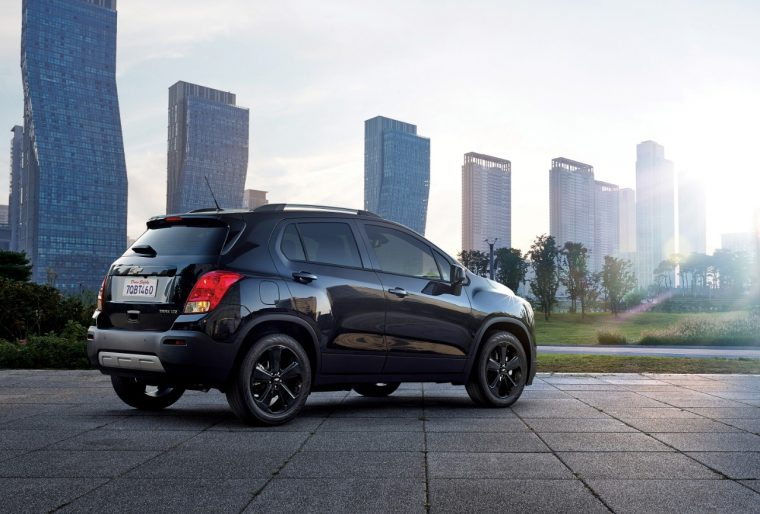 A Star Wars-inspired 2016 Chevy Trax Midnight Edition