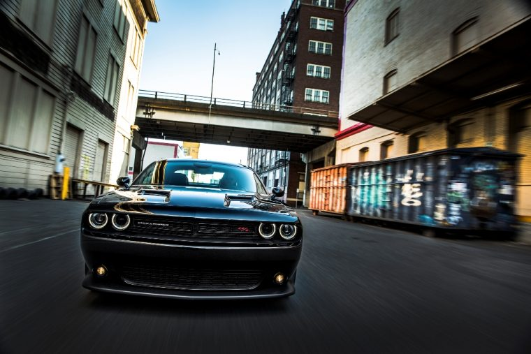 2016 Dodge Challenger Front End Driving
