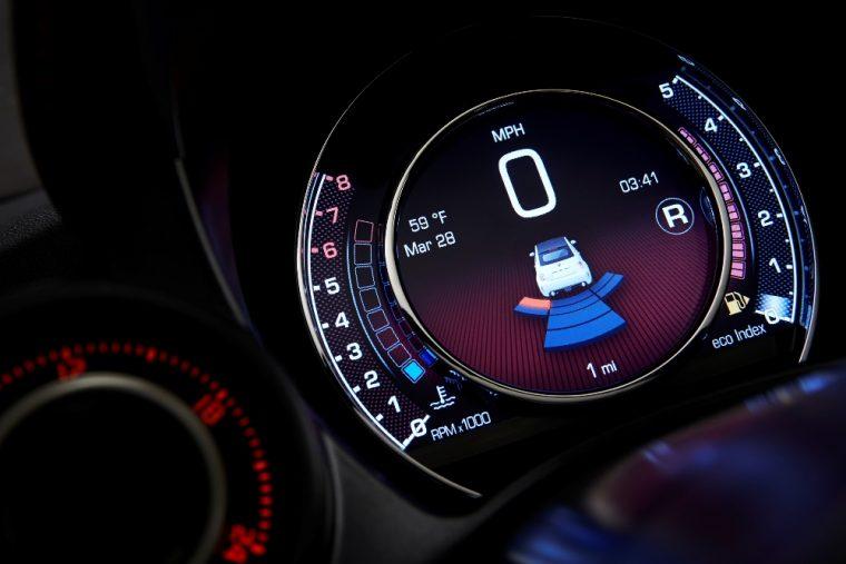 2016 Fiat 500 Abarth interior