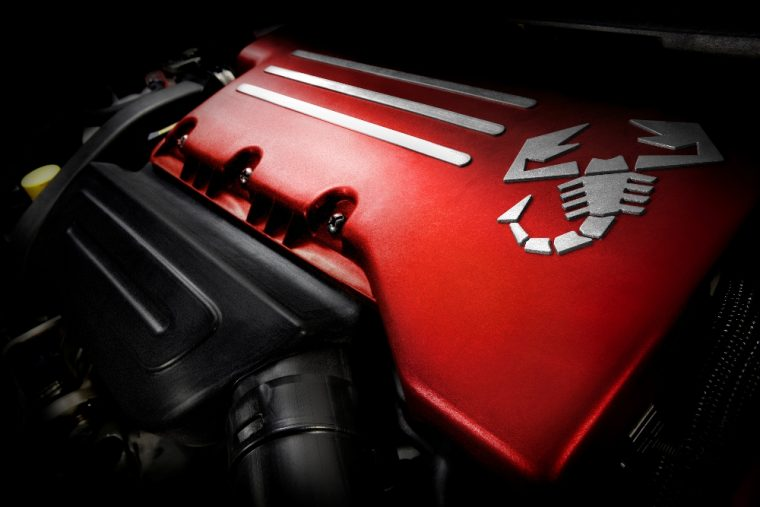2016 Fiat 500 Abarth engine