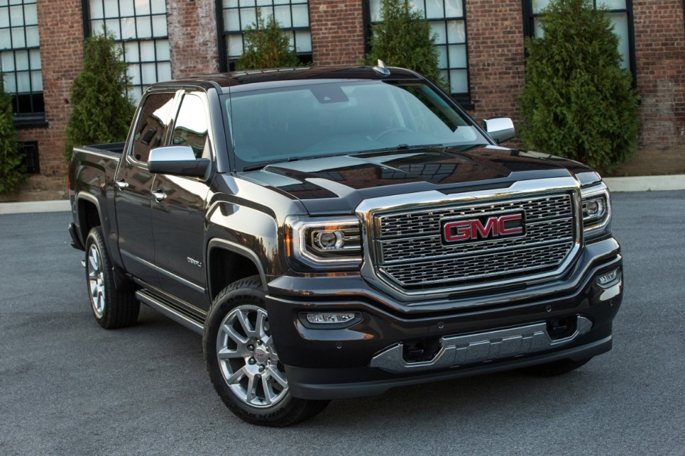 2016 gmc sierra 1500 denali named truck trend s truck of the year the news wheel. Black Bedroom Furniture Sets. Home Design Ideas