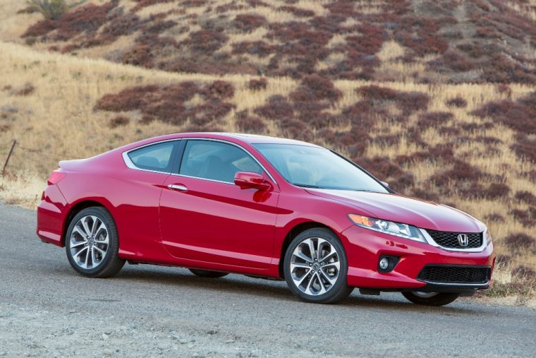 The 2016 Honda Accord coupe features a number of exterior color options