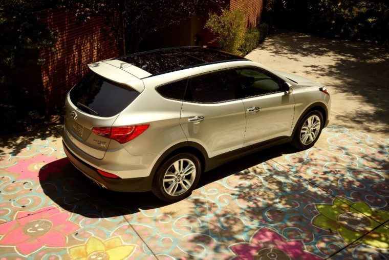 Exterior of the distinct 2016 Hyundai Santa Fe Sport