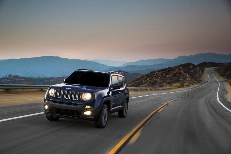 2016 Jeep Renegade Driving