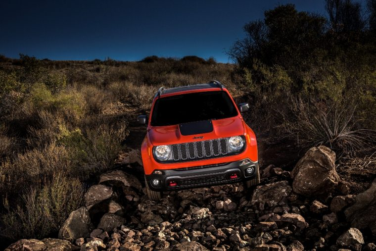2016 Jeep Renegade Headlights