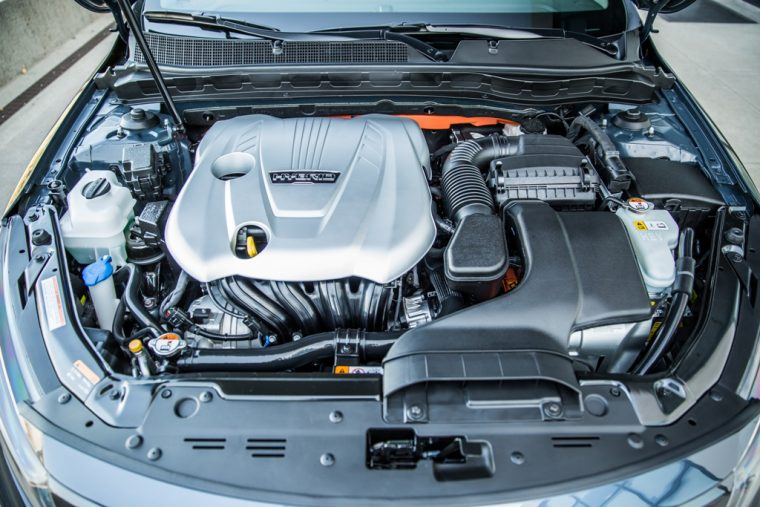 2016 Kia Optima Hybrid Engine