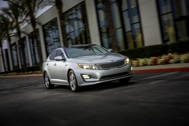 2016 Kia Optima Hybrid Front End