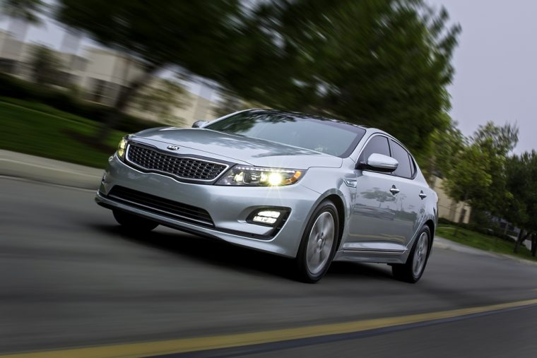 2016 Kia Optima Hybrid Headlights