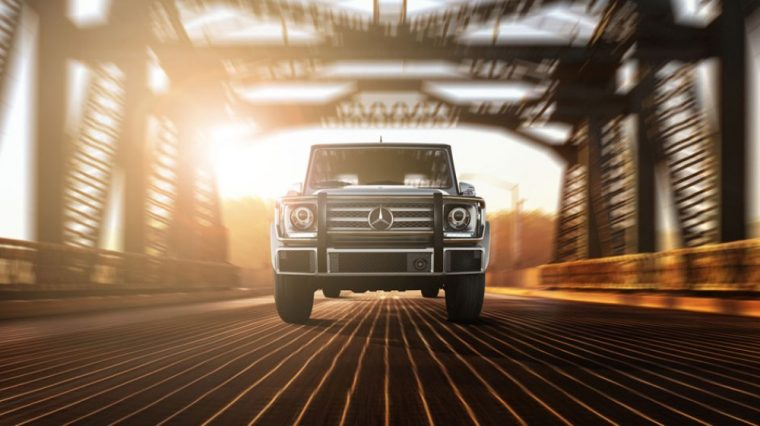 The 2016 Mercedes-Benz G-Class features a 416 hp V8 engine