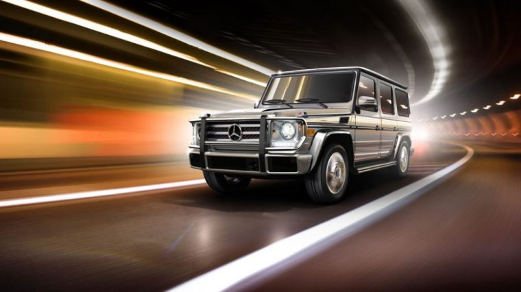 The 2016 Mercedes-Benz G-Class comes standard with Rain sensor wipers