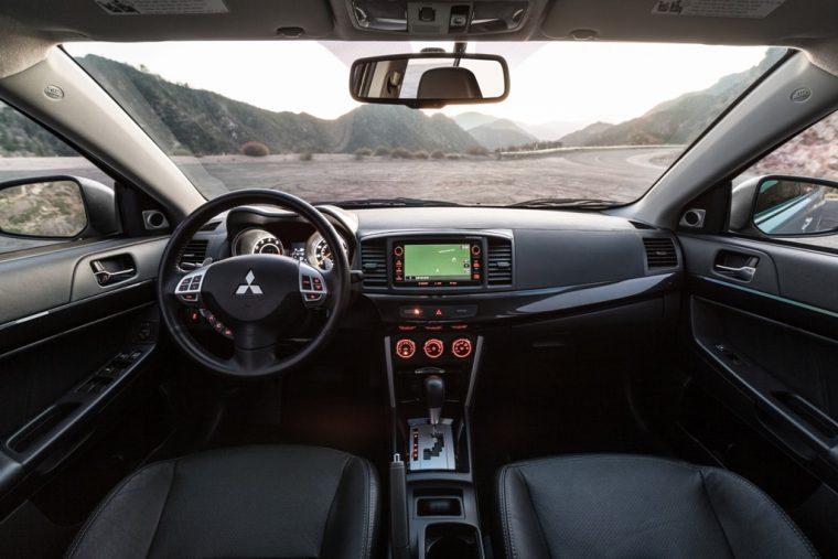 2016 Mitsubishi Lancer Dashboard