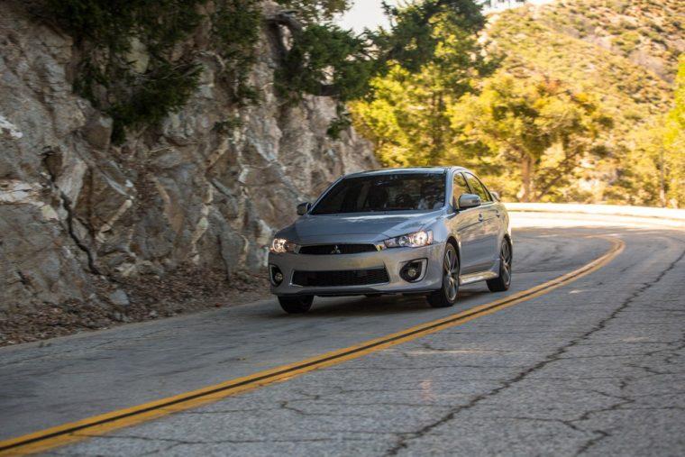 2016 Mitsubishi Lancer Driving