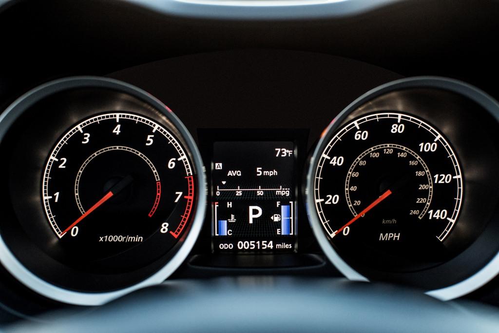 2016 Mitsubishi Lancer Speedometer Design | The News Wheel