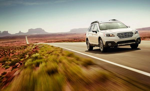 The 2016 Outback and five other Subarus earned the IIHS Top Safety Pick+ distinction
