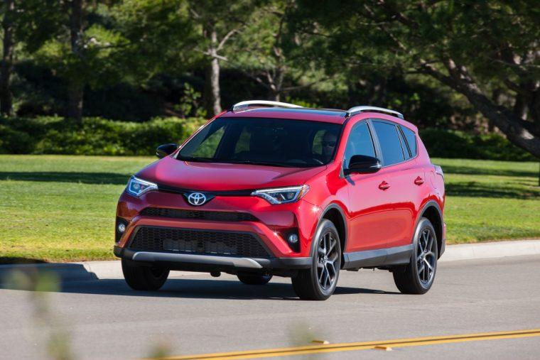 2016 Toyota RAV4 - March sales