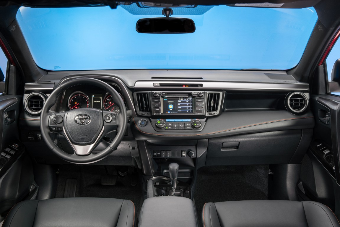 2015 Toyota Rav4 Le Car Interior Design