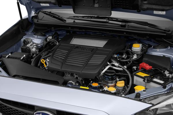 A look at the 2016 WRX's 2.0-liter turbocharged BOXER engine
