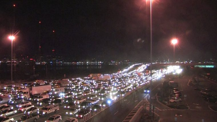 Bay Bridge Spill Traffic